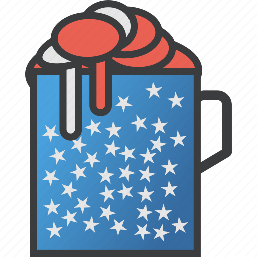 american, beer, celebrate, drink, independence, july 4th, party icon