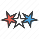 america, celebrate, independence day, stars icon