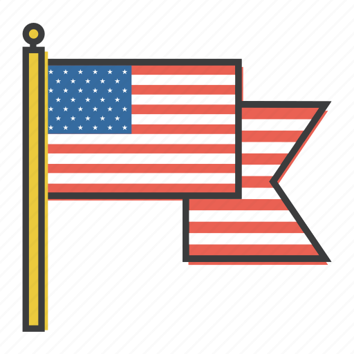 america, american, celebrations, flag, independence, july 4th, patriotism icon