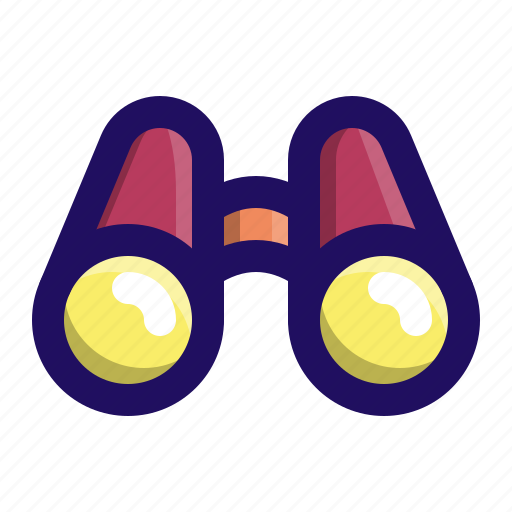 Binoculars, looking, tool, view, watch, zoom icon - Download on Iconfinder