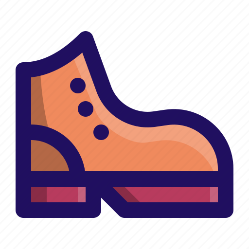 boot, camping, footwear, hiking, outdoor, shoes icon