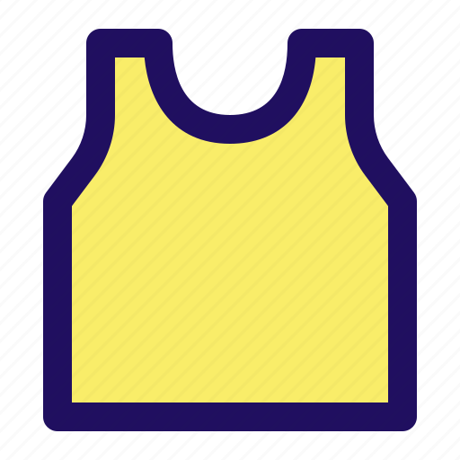 apparel, clothes, clothing, tanktop, undershirt, underwear icon
