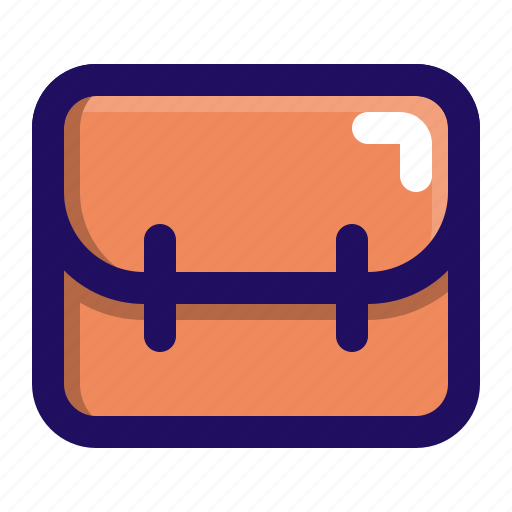 bag, briefcase, carry, hand, hipster icon