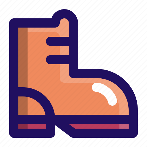 boot, footwear, leather, shoes, sneaker icon
