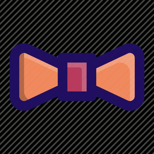 bow, men, neck, post, suit, tie icon