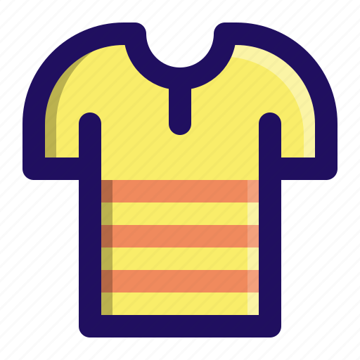 clothing, fabric, fashion, stripe, tee, tshirt icon