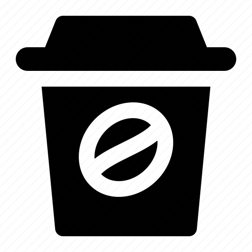 coffee, cup, drink, paper, shop, takeaway icon