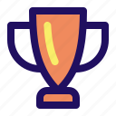 achievement, award, complete, cup, trophy, winner icon