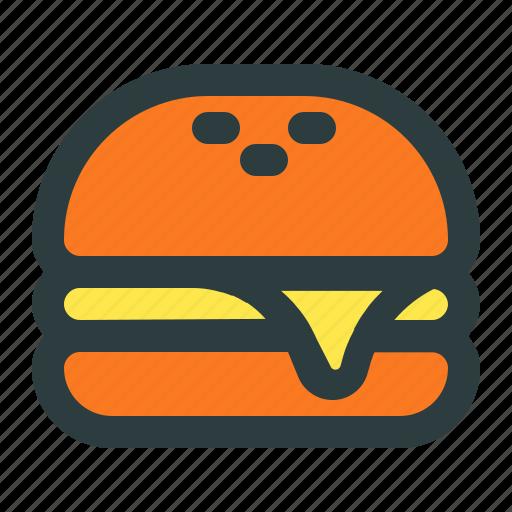 burger, cheese, cheeseburger, food, junk icon
