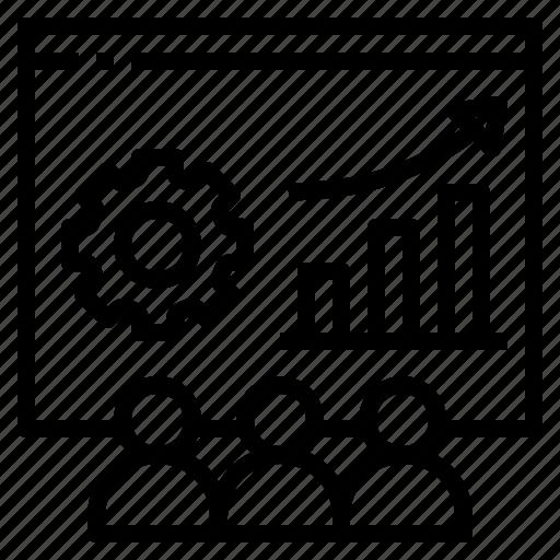 board, project, staff, team, turnover icon