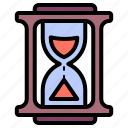 hourglass, sandglass, sand timer, sand clock, time