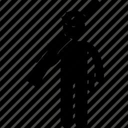 guard, gun, man, person, police, rifle, security icon