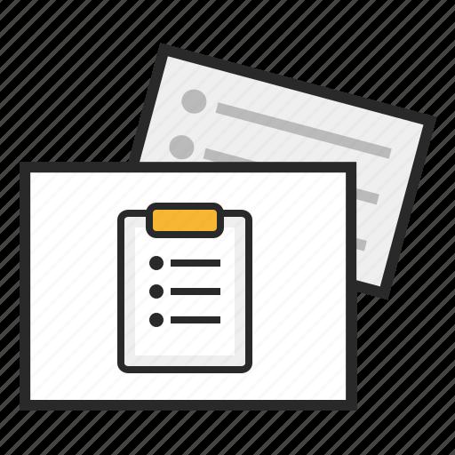 agile, backlog, kanban icon