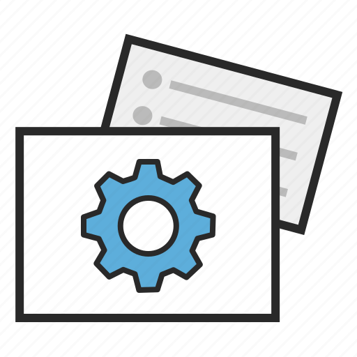 agile, development, in progress, kanban icon