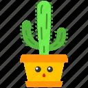 cactus, cactus icon, elephant, kawaii icon