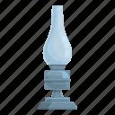 ancient, kerosene, lamp