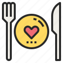 diet, favorite, food, healthy, meal, restaurant icon