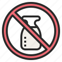 banned, dairy, forbidden, mild, no, prohibited icon