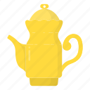 kettle, tea, teakettle, teapot icon