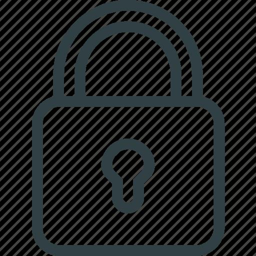 key, keyhole, lock, padlock icon