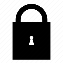 key, lock, locked, padlock, secure, security icon