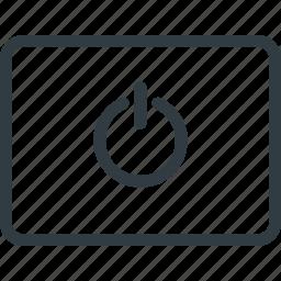 keyboard, power, shortcut, type icon