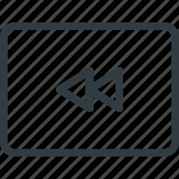 keyboard, reverse, shortcut, type icon