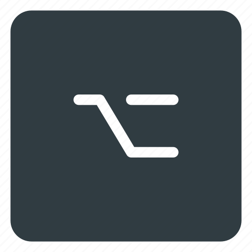 alt, keyboard, option, shortcut, type icon