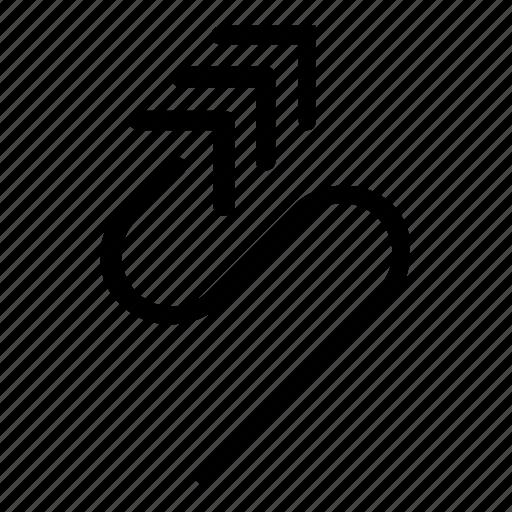arrow, function, key icon