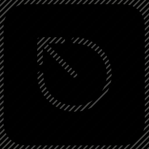 arrow, escape, function icon