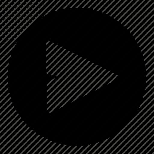 arrow, forward, function icon
