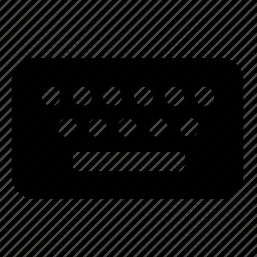 computer, hardware, keyboard icon