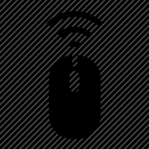 mouse, wireless icon