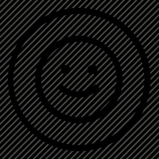 emoji, emoticon icon