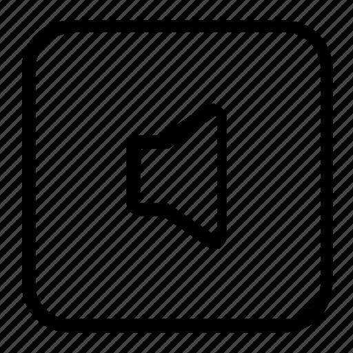 audio, mute, speaker icon