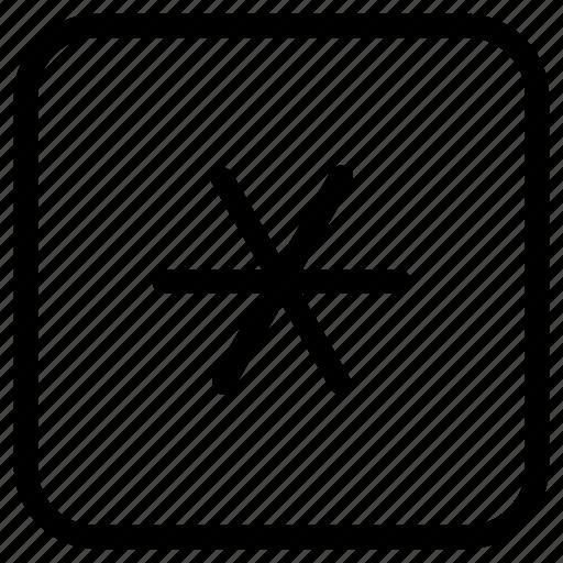 Function Key Star Icon