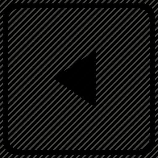 arrow, element, function, keyboard, left icon