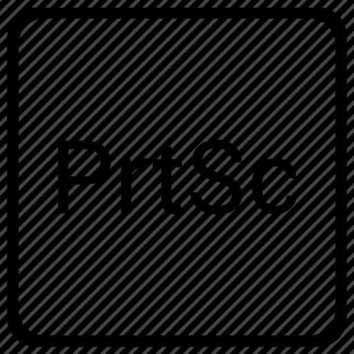element, function, keyboard, print, screen icon