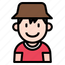 kid, avatar, boy, people, person, young, hat icon