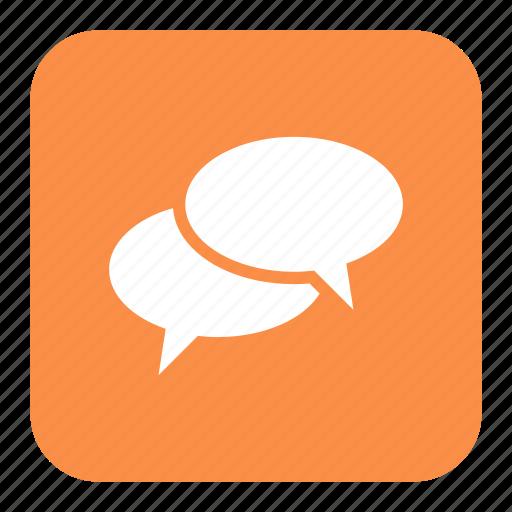chat, chatting, communication, conversation, education, language, speech bubble icon