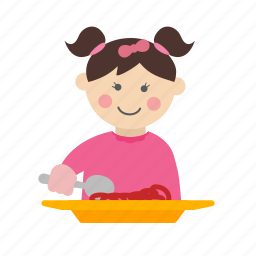 child, eating, family, food, healthy, kid, kids icon