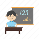 book, class, classroom, kid, kids, school, teacher icon