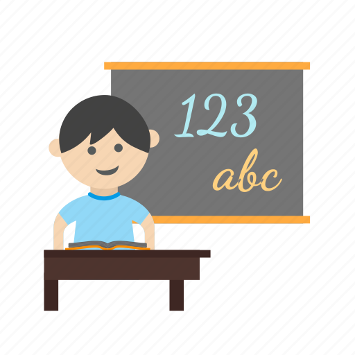 Book, class, classroom, kid, kids, school, teacher icon - Download on Iconfinder