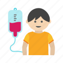 child, cute, doctor, drip, kid, medical, stethoscope icon
