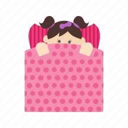 baby, bed, child, happy, kid, newborn, sleeping icon