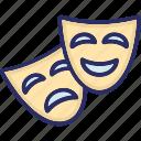 arts, performing, performing arts, theatre icon