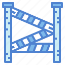 investigation, line, police, security, signaling icon