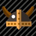 costume, helmet, kingdom, viking icon