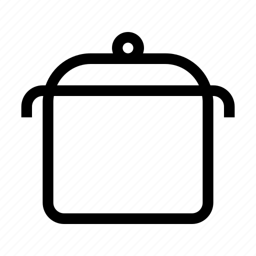 cooking, dishes, food, kitchen, pan, pot icon