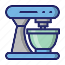 kitchen, mixer, stand, stand mixer icon
